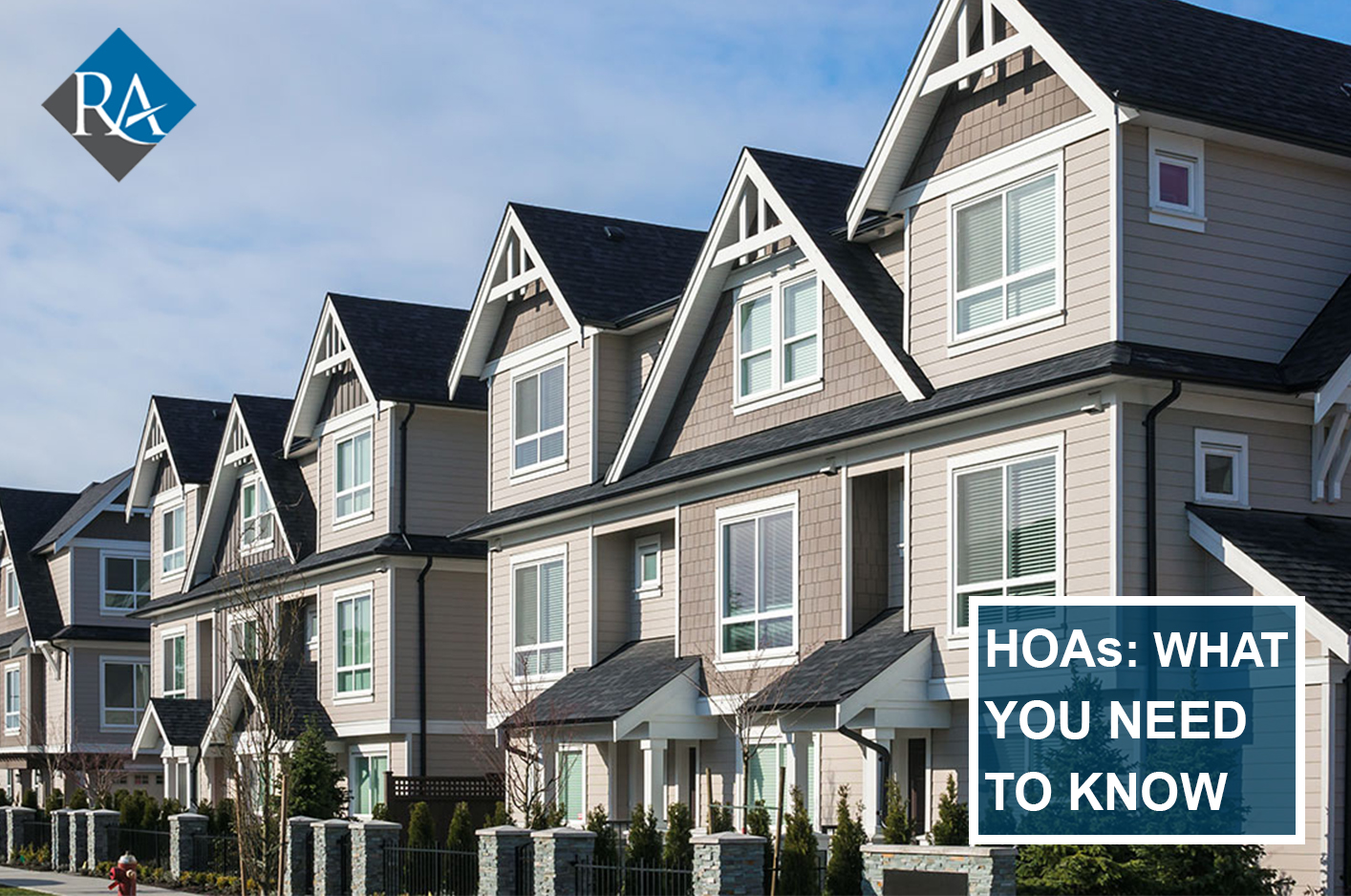 What is your HOA responsible for